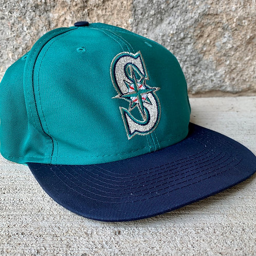 Vintage Seattle Mariners Snapback Hat By Logo 7