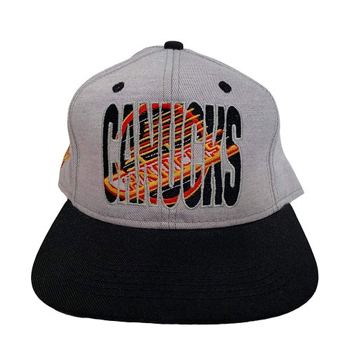 Vintage Vancouver Canucks Stringback Hat By #1 Apparel