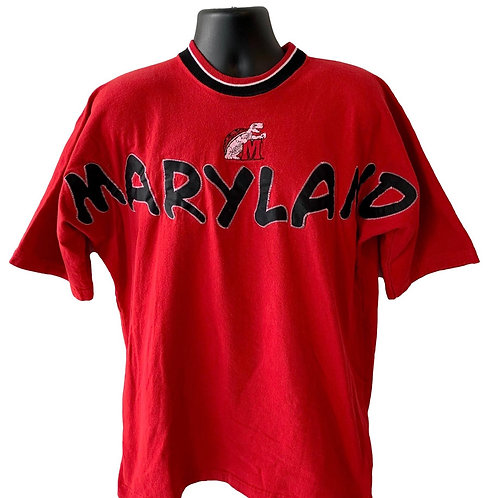 Vintage Maryland Terrapins T Shirt By Legends