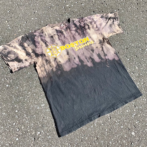Vintage Boston Bruins Tie Dye T Shirt By Starter