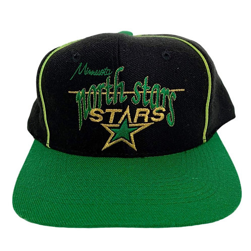 Vintage Minnesota North Stars Snapback Hat By The Game