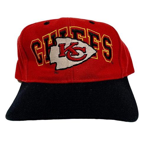 Vintage Kansas City Chiefs Snapback Hat By Eastport