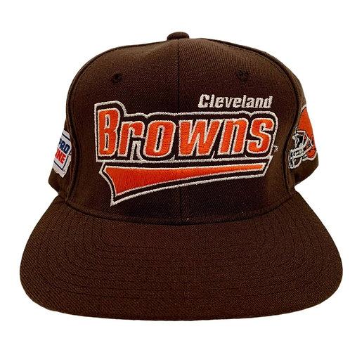 Vintage Cleveland Browns Flex Fit Hat By Starter