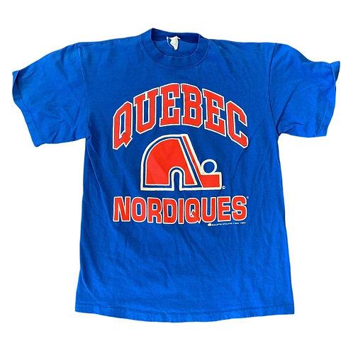 Vintage Quebec Nordiques T Shirt By Bulletin