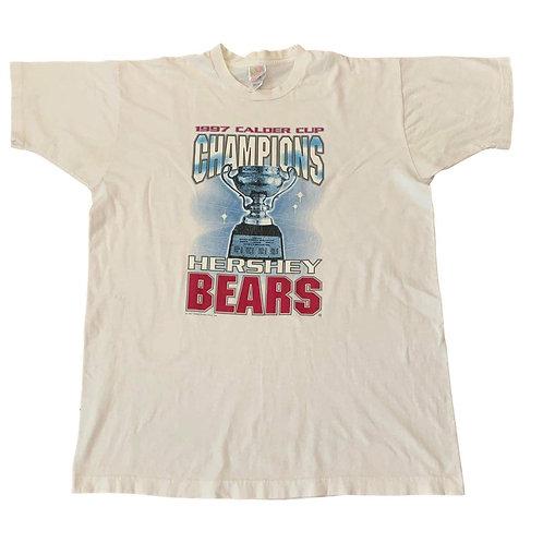 Vintage Hershey Bears T Shirt By Frut Of The Loom