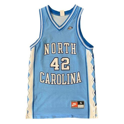 Vintage University Of North Carolina NCAA Jersey By Nike