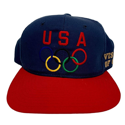 Vintage USA Olympics Snapback Hat By First Pick