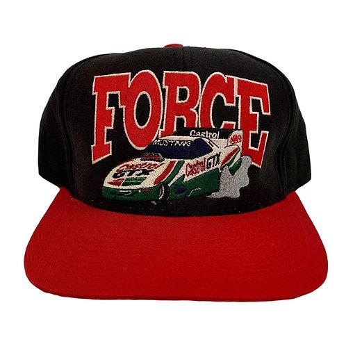 Vintage Nascar Snapback Hat By Logo 7
