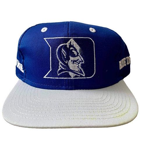 Vintage Duke Blue Devils Snapback Hat By Competitor