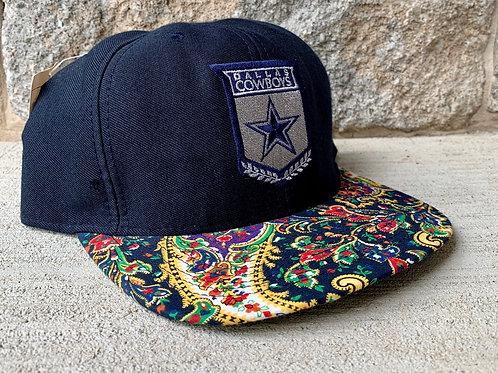 Vintage Dallas Cowboys Snapback Hat By Nutmeg