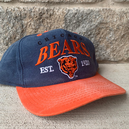 Vintage Chicago Bears Snapback Hat By Drew Pearson