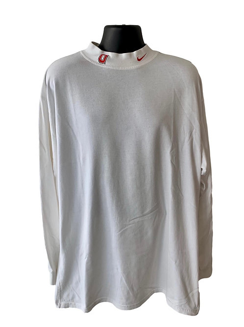 Vintage Ohio State Buckeyes Nike Mock Neck Long Sleeve Shirt