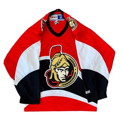 Vintage Ottawa Senators NHL Hockey Jersey By CCM