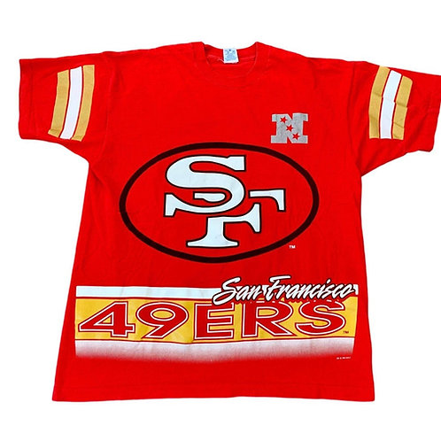 Vintage San Francisco 49ers T Shirt By Salem