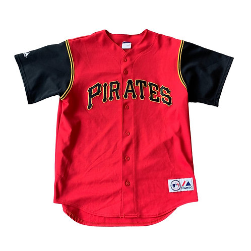 Vintage Pittsburgh Pirates MLB Baseball Jersey By Majestic