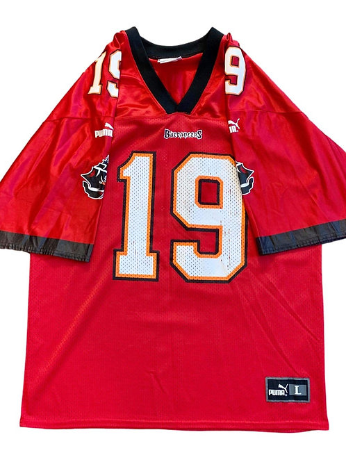 Vintage Tampa Bay Buccaneers Keyshawn Johnson NFL Football Jersey By Puma