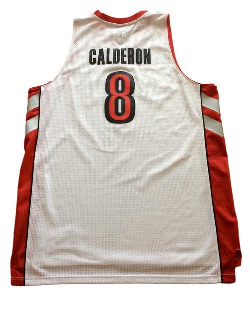 fdb80cb2f66 Toronto Raptors Jose Calderon Jersey by Adidas. C$47.00 C$ 42.00. Made by  Adidas
