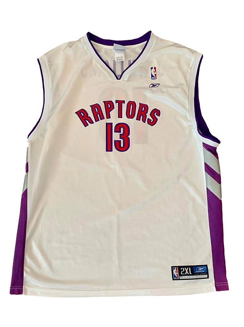 Vintage Toronto Raptors Jerome Williams NBA Basketball Jersey By Reebok