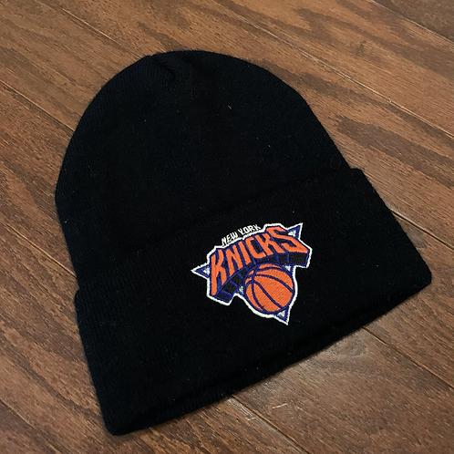 Vintage New York Knicks Beanie Hat