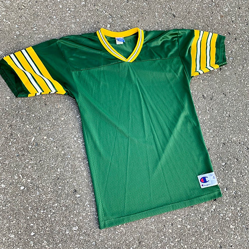 Vintage Green Bay Packers Blank Jersey By Champion