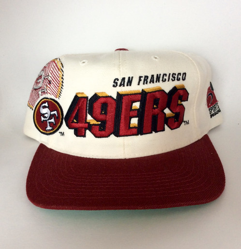 31c6f3d702940 ... low cost vintage san francisco 49ers shadow snapback hat by sports  specialties 7e59d 25eb6