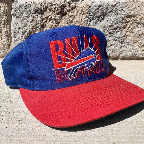 Vintage Buffalo Bills Snapback Hat By AJD