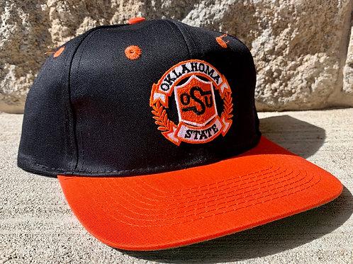 Vintage Oklahoma State University Snapback Hat By Cobra Caps