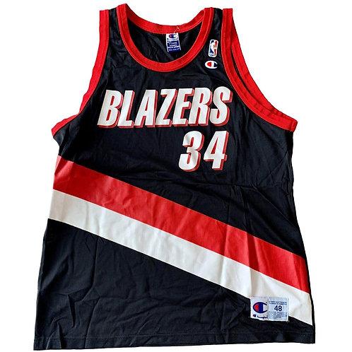 Vintage Portland Trailblazers NBA Basketball Jersey By Champion