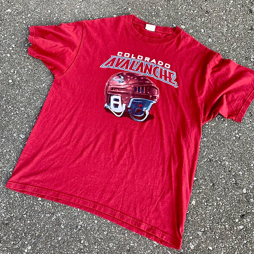 Vintage Colorado Avalanche T Shirt By Lee Sport