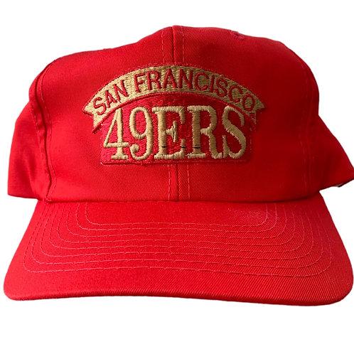 Vintage San Francisco 49ers Snapback Hat