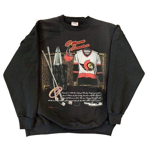 Vintage Ottawa Senators Crewneck Sweater By Nutmeg
