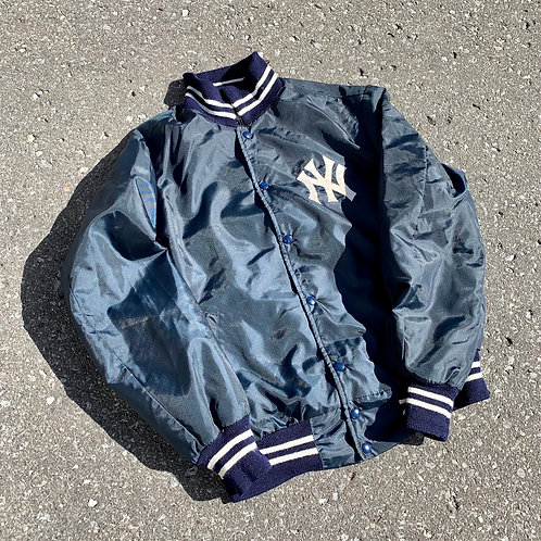 Vintage New York Yankees Button Up Jacket By Shain