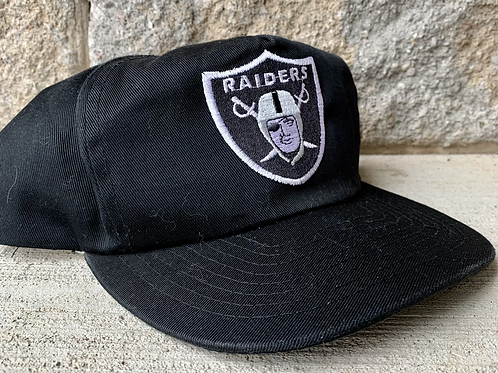 Vintage Oakland Raiders Snapback Hat By American Needle