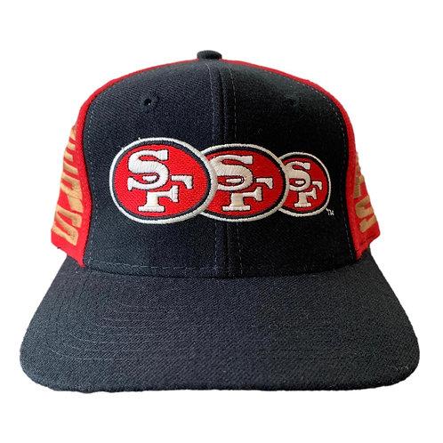Vintage San Francisco 49ers Snapback Hat By AJD