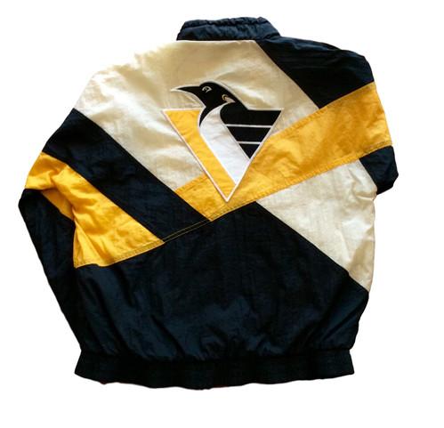 0aa9642b0 Vintage Pittsburgh Penguins Windbreaker Jacket by Apex One
