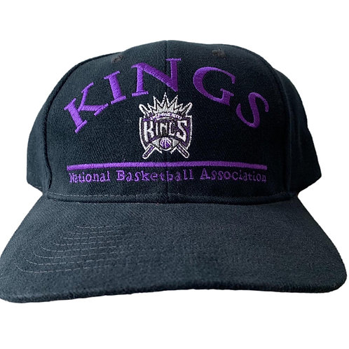 Vintage Sacramento Kings Snapback Hat By Drew Pearson
