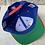Thumbnail: Vintage Kansas Jayhawks Snapback Hat By Logo 7