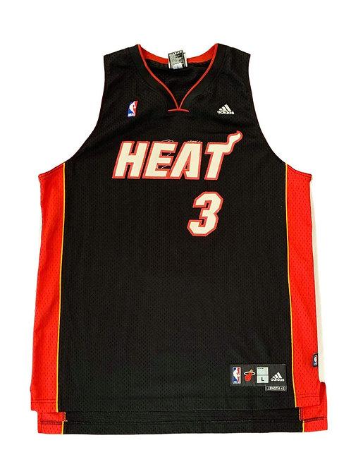 Miami Heat Dwayne Wade NBA Basketball Jersey By Adidas