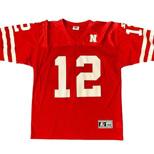 Vintage Nebraska Cornhuskers NCAA Football Jersey By Starter