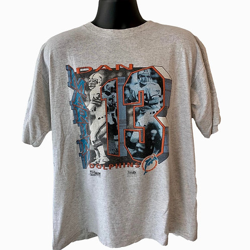 Vintage Miami Dolphins Dan Marino T Shirt By Salem
