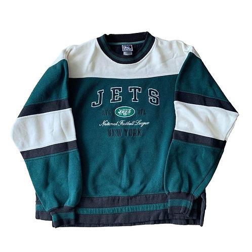 Vintage New York Jets Crewneck Sweater By Pro Player