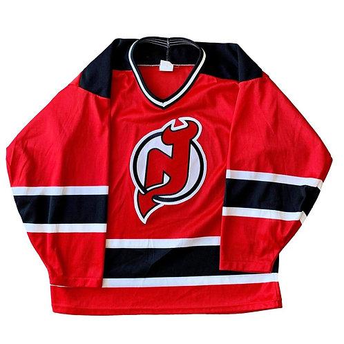 Vintage New Jersey Devils NHL Hockey Jersey By CCM