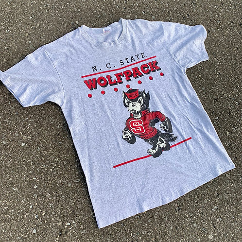 Vintage NC State Wolfpack T Shirt By Hanes