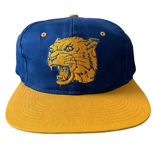 Vintage Pitt Panthers Snapback Hat By Logo 7