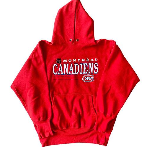 Vintage Montreal Canadiens Hoodie Sweater By Ravens