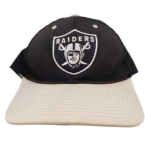Vintage Oakland Raiders Snapback Hat By Twins