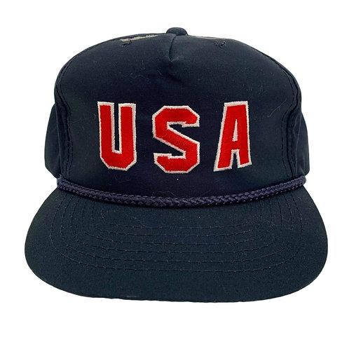 Vintage USA Olympics Strapback Hat By Clutch