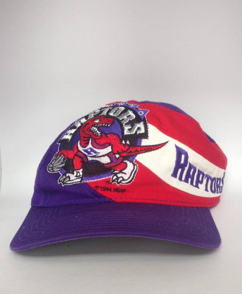 dfd57cc307278 Vintage Toronto Raptors Snapback Hat by Twins NBA