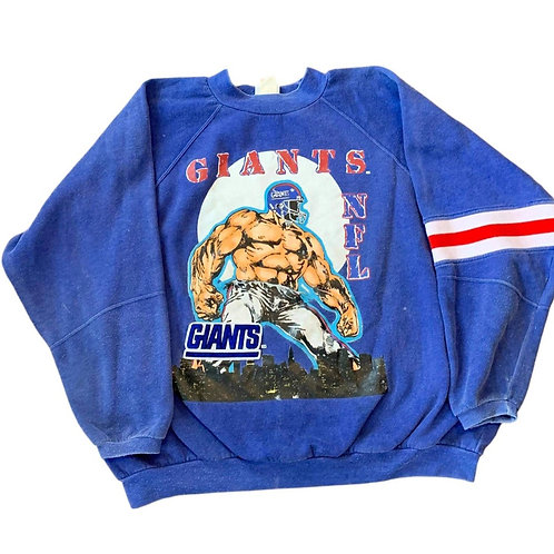 Vintage New York Giants Crewneck Sweater By Apex One