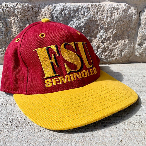 Vintage Florida State Fitted Hat By Univerial